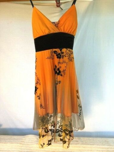 Orange /& Black Adult Ballet//Contemporary//Lyrical Dance Costume
