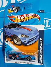 Hot Wheels 2012 Performance Series #146 Dodge Viper GTS-R Blue K&N