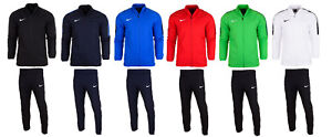 669525d0c9 Nike Mens Dry Academy 18 full tracksuit Top Track Jacket Bottoms ...