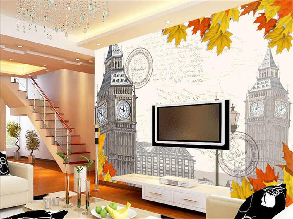 Integral Big Ben 3D Full Wall Mural Photo Wallpaper Printing Home Kids Decor
