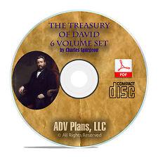 The Treasury of David, Charles Spurgeon, Bible Study, Book of Psalms PDF CD F32
