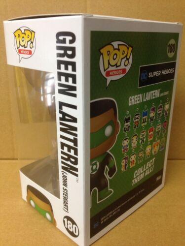 FUNKO POP DC Green Lantern JOHN STEWART #180 Exclusive Vinyl Figure *Brand New*