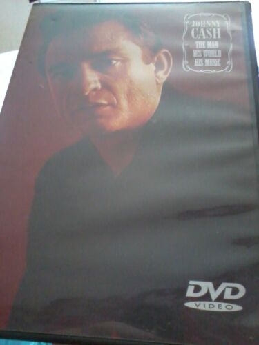 1 of 1 - JOHNNY CASH The Man, His World, His Music DVD 1969 Documentary POST FREE