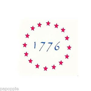 Stencil Patriotic Stars 1776 Flag Stars 4th Of July Americana Ebay