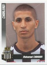 N°091 MOHAMED CHAKOURI # FRANCE SPORTING CHARLEROI STICKER PANINI FOOTBALL 2011