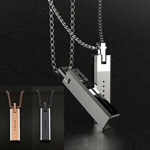 Fashion-Necklace-Chain-Pendant-Magnetic-Holder-for-Fitbit-Flex-2-Stainless-Steel