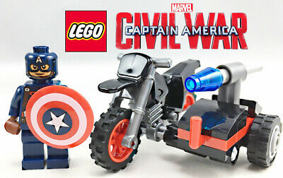 Lego 30447 Factory Sealed Polybag Captain America/'s Motorcycle