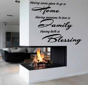 v18-House-family-roots-inspirational-wall-art-quote-Sticker-6-sizes-many-colours