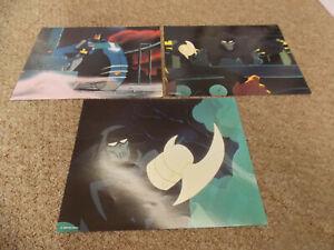 BATMAN-MASK-OF-THE-PHANTASM-1993-ANIMTED-FILM-LOT-OF-3-DIFF-ORIGINAL-LOBBY-CARDS