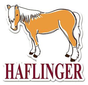 Haflinger Mom Sticker Vinyl Auto Window Avelignese Horse