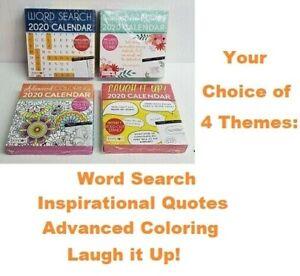 Bendon 2020 Calendar 4 Desk Novelty Inspirational Coloring Jokes