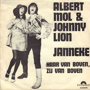 ALBERT-MOL-amp-JOHNNY-LION-Janneke-1970-VINYL-SINGLE-7-034