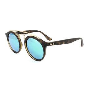 f73d2e60fe4 Image is loading Ray-Ban-Sunglasses-Gatsby-4256-60923R-Matt-Havana-