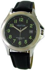 HEKTOR Arbeitsuhr Datum Edelstahl Saphirglas Lumi tool watch day 10bar
