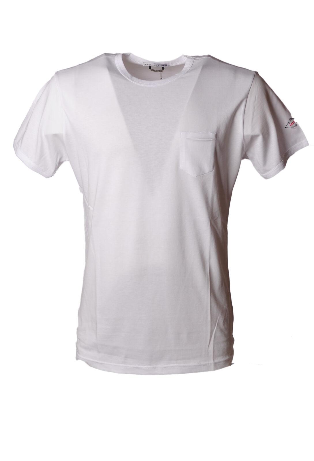 Daniele Alessandrini - Topwear-T-shirts - Man - Weiß - 4720716F180543