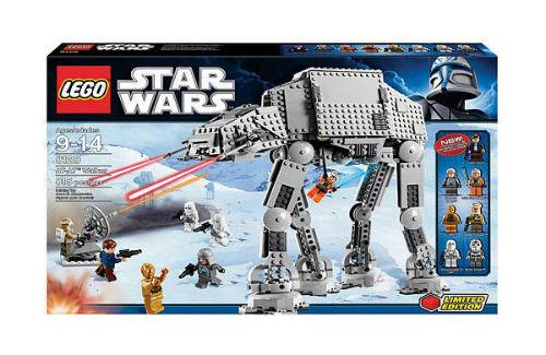 lego star wars at at walker 8129 ebay. Black Bedroom Furniture Sets. Home Design Ideas