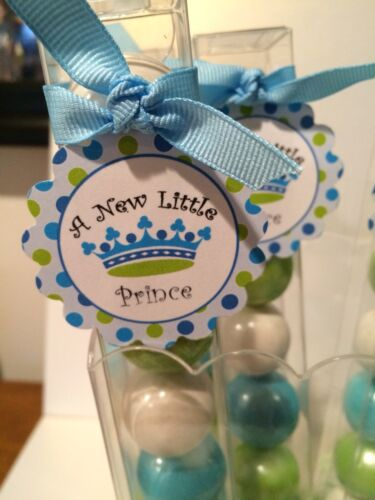 A New Prince Party Favor Gumball Candy Baby Boy Shower