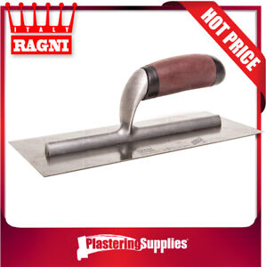 Ragni-Trowel-280mm-x-120mm-Stainless-Steel-Flat-418S-MADE-IN-ITALY
