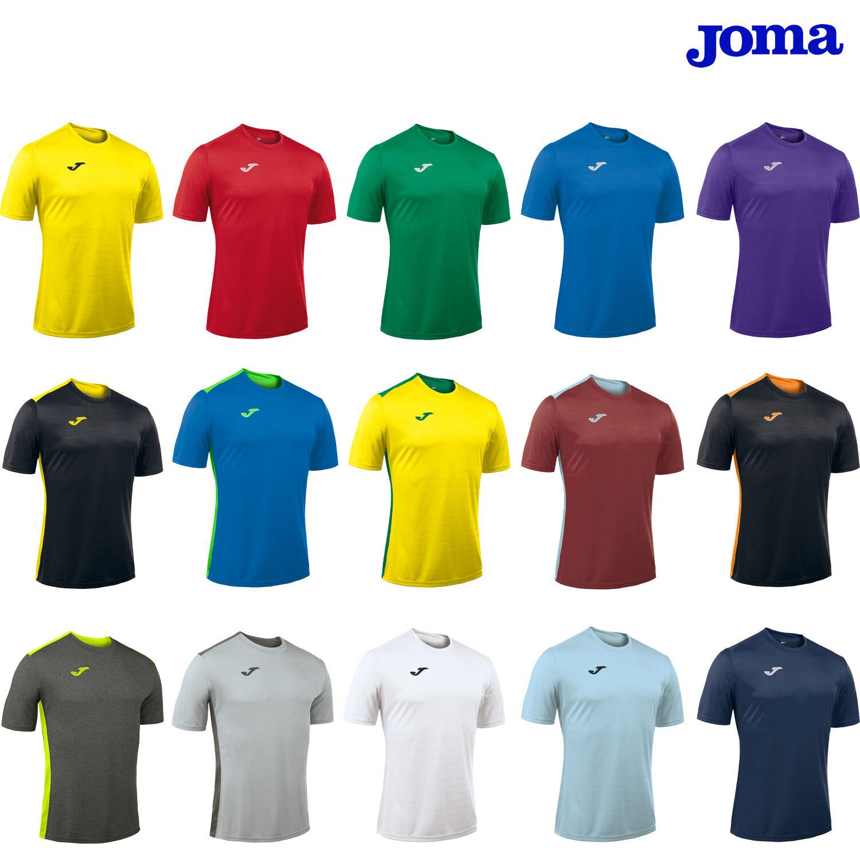 Joma campus equipo de fútbol Kit Franja Camisas Junior Niños Infantil edad 4-6 8-10 12 Y 14