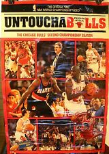 "1992 Chicago Bulls Untouchabulls 25 x 38"" Video Promo Poster Jordan Pippen Grant"