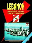 Lebanon Government and Business Contacts Handbook by International Business Publications, USA (Paperback / softback, 2003)