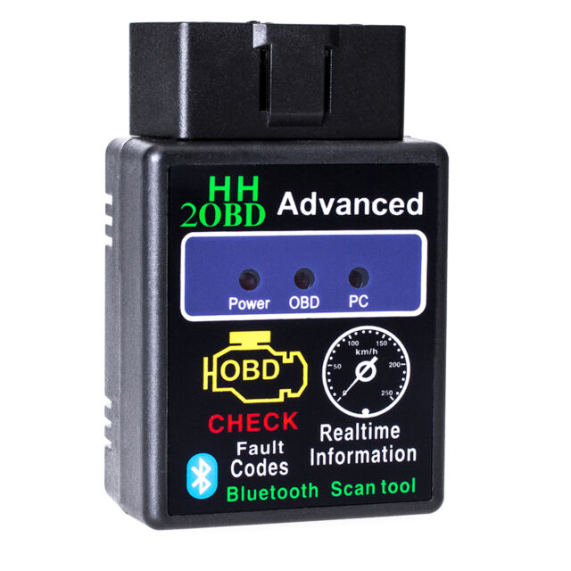 Bluetooth CAN BUS Interface OBD2 Android Handy Diagnose Scanner Adapter