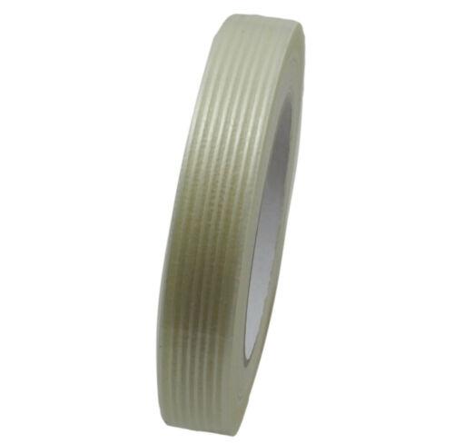 Details about  /Filament Tape Glass fibre reinforced 9 12 15 19 25 30 38 50 75 100mm x 50m show original title