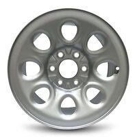 17 6 Lug 07-15 Chevy Silverado 1500 Gray Steel Wheel Rim 17x7.5 6-139.7