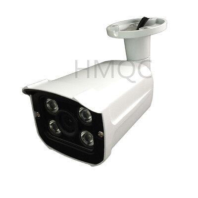HMQC H.265 2MP 3.6MM 1080P POE IP Camera P2P Security ONVIF 6IR Metal P2P Black