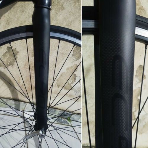 "1-1//8/"" Full Carbon Fiber 700C Road Bike Fork Straight Tube Superlight Matt//Gloss"