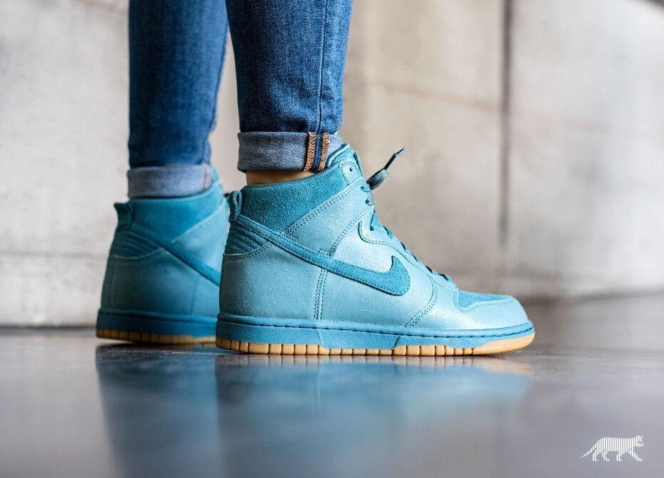 EXCLUSIVE WMNS Nike Dunk Hi PRM Smokey Mica Blau 881237 40.5 001 UK 6.5 EU 40.5 881237 US 9 72daff