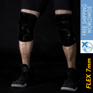 7mm Knee Supports Squat Brace Patella Sleeve Weightlifting Sport Gym Xs S M L Xl Ebay