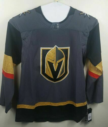 check out 294f2 6bc25 adidas Men's 50 Vegas Golden Knights Pro Home Jersey Inaugural Seaon 252ja  for sale online | eBay