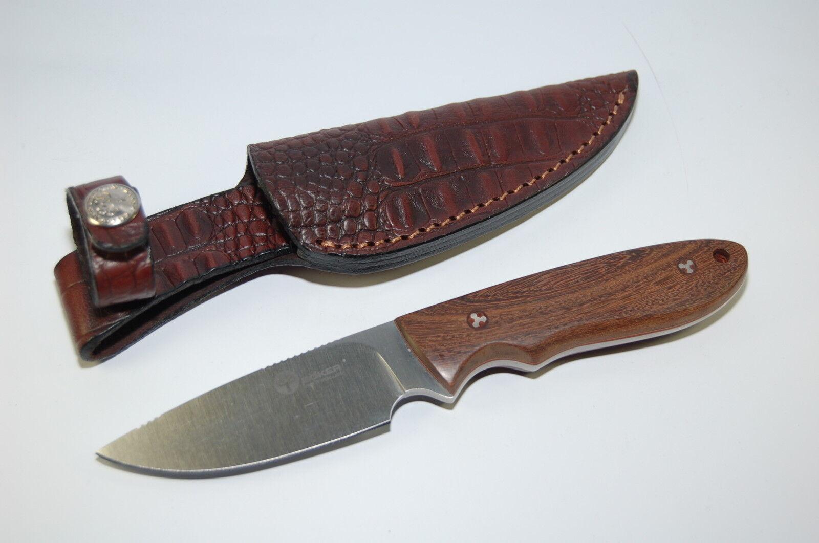 Böker Böker Böker Arbolito Pine Creek Wood EDC Messer Outdoormesser Jagdmesser 02BA701G 2b68b0
