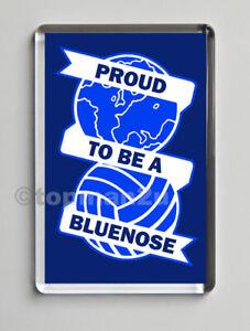 New, PROUD TO BE A BLUENOSE Quality Fridge Magnet - Birmingham City, Blues, BCFC