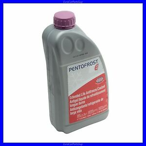 Pentosin PENTOFROST E L AudiVW G Violet PurpleLilac - Audi antifreeze