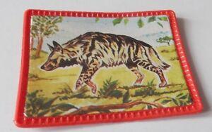 Image / Vignette Vitho N°26 - Hyene - Collection Les Animaux Du Monde