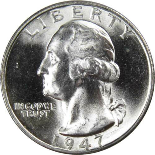 1947-S 25c Washington Silver Quarter Uncirculated Mint State