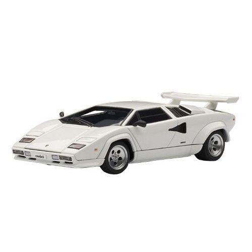 AUTOart 54533 1 43 Lamborghini Countach 5000 S blanc Japan new .
