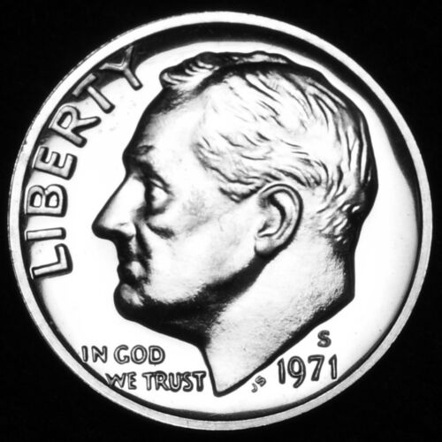 Coin from Original Proof Set 1971 S Roosevelt Mint Proof Dime ~ U.S