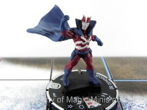 Nick-Fury-Agent-Shield-DR-DEMONICUS-047-HeroClix-rare-miniature-47-DOCTOR
