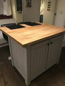 Image Is Loading Cottage Kitchen Island Unit 120 X 90 Made