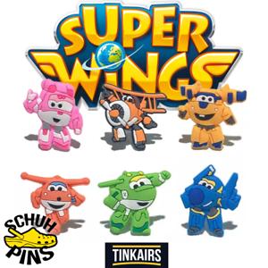 Super-Wings-Schuh-Pins-Crocs-Clogs-Disney-Paw-Patrol-Cars-jibbitz-Geburtstag