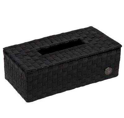 HANDED BY Luzzi Tissue Box Kleenex Kosmetiktücher Tücher Deckel black schwarz