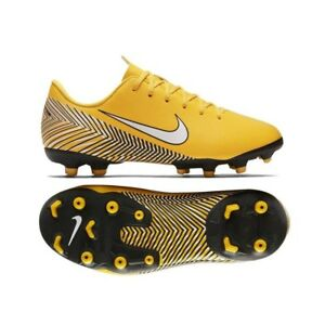 release date 54111 3d7bb Details about Nike - JR Vapor 12 Academy GS FG/MG - Scarpe Calcio Junior -  Yellow - AO2896 710