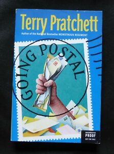 GOING POSTAL Terry Pratchett US UNCORRECTED PROOF / ARC 1st ED Discworld