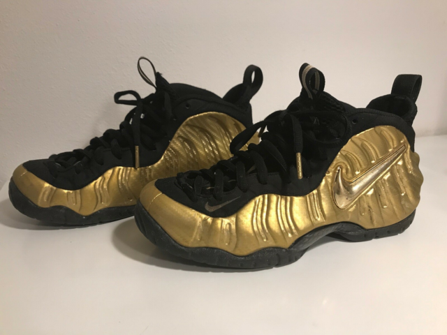Sneakers, Nike Air Foamposite Pro, str. 40,  Metallic Gold,…