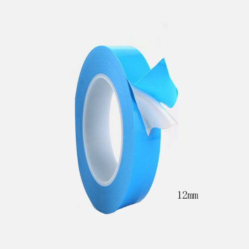 25mx 8//10//12//20//25mm Transfer Tape Double Side Thermal Conductive Adhesive Tape