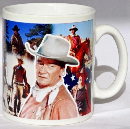John Wayne Mug hommage le duc Collage Tasse Cadeau Idéal décoré au Royaume-Uni