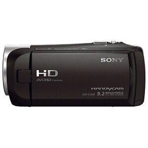 BRAND-NEW-Sony-Handycam-HDR-CX440-8GB-Wi-Fi-1080p-HD-Video-Camera-Camcorder